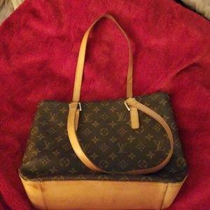 LV medium Cabas Tote purse